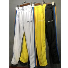 Wholesale harem sweat pants - Angels Sweatpants Women Men Angels PA rainbow Exclusive Drawstring Tracksuit Joggers Sweat Pants Sweatpants