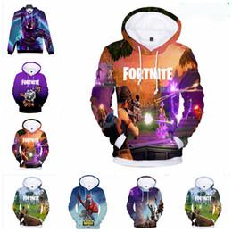 3D Fortnite Games Pullover Hoodie Sweatshirt New Men Women Plus Size 4XL Hip Hop Hoodie Kids Long Sleeve Shirts Fortnite Hoodie ZYL9-1