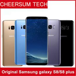 Wholesale Samsung Galaxy S8 S8 Plus abierta original G LTE solo SIM del teléfono móvil Android Octa Core MP MP memoria RAM de GB ROM GB WIFI GPS