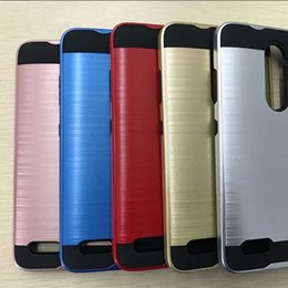 Wholesale Fast Plastic Case - In Stock ZTE Z963U Z981 Beat Newest 2 in 1 Hybrid Armor Case Hard Defender Mars Back Cover Fast Shipping