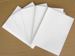 Stampa acqua trasferimento online-Spedizione gratuita! 10 pz / lotto formato A4 blank water transfer printing film Blank hydro immersione film per stampante a getto d'inchiostro inchiostro pigmentato