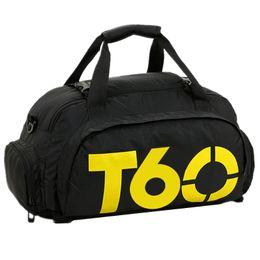 Продажа обуви онлайн-Hot Sale Men Gym Bag Women Sports Fitness Independant Shoes Storage Multiple Back Methods Sac De Sport T60