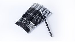 Labios de aloe online-HOT Eyeliner delineador de cejas Pencil Black / Brown EYE / LIP Liner Lápiz Aloe Vitamin E1.6g 1000pcs