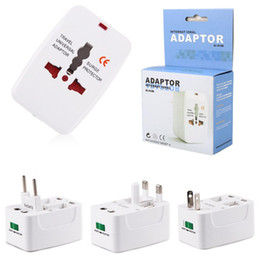 Wholesale multi converter - Multi-function All in One Universal International Plug Adapter World Travel AC Power Charger Adaptor with AU US UK EU converter Plug
