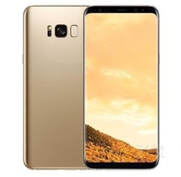 Wholesale memory 64g - Real Fingerprint Goophone S8 Plus Fake 4g Lte Quad Core 6.2Inch 1920x1080 Screen 1GB RAM 16GB ROM With 64G Memory Card Gift