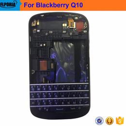 parties de mûre Promotion Pièces de réparation centrales de cadre de couverture de clavier de couverture arrière de batterie pour Blackberry Q10
