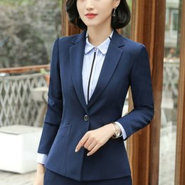2018 Tradition OL Classic Long Sleeve Female Business Suit Sale Work  Jaqueta Feminina Jacket Office Uniform Designs Women 22d9b90ca