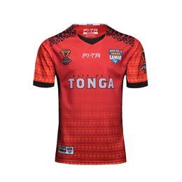 2019 testen tasse Heiße Verkäufe WM 2018 MATE TONGA NATIONL LIGA Trikot PACIFIC TEST Rugby Trikots Shirt Tonga Nationalmannschaft Liga Trikot S-5XL günstig testen tasse