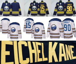 Wholesale Men Winter Jack - 2018 Buffalo Sabres Winter Classic Jerseys #15 Jack Eichel Home Blue Blank 90 Ryan O Reilly White Stitched Hockey Jersey