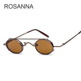 a9b3ef456f7 Glasses Steampunk Woman Online Shopping - ROSANNA Steampunk Sunglasses Men  Women Oval Clip On Sun glasses