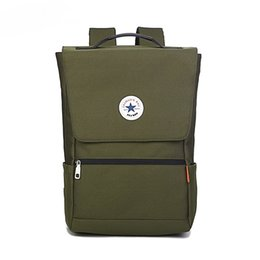 south korean style backpacks Promo Codes - South Korean backpack waterproof Oxford cloth 16-inch computer backpack for men and women shoulder students travel backpack