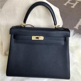 Wholesale Handcrafted Dress - Luxury women designer handbags high quality H brand 100% handmade togo TOP Genuine Leather famous hs handcrafted bag women shoulder bag