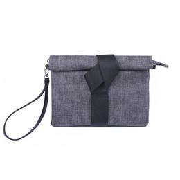 Wholesale Universal Ribbon - 2018 Contrast Envelope Bags Four Seasons Universal New Clutch Fashion Simple Shoulder Bag Ms. Messenger Bag