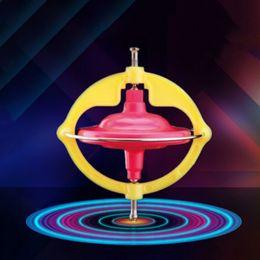 Wholesale Light Music Top - Multifunctional Creative Peg-Top Toys Children Manual Whirlwind Magic LED Light Music Gyroscope Toy