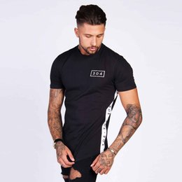 Wholesale Wholesale Casual Wear For Men - Men Tshirt Hot Sales 2018 Summer Latest t shirts Urban Streetwear t shirts For Men Street Wear Fashion