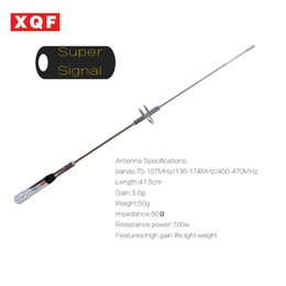 Wholesale vhf mobile radios - XQF NA770S Car Antenna Dual Band VHF UHFFor Mobile two way radio car radio NL770S High gain for QYT KT8900 BJ218