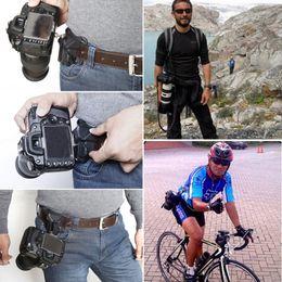 fuji fotocamera polaroid Sconti Clip di montaggio rapida per fotocamera con gancio per cintura video in vita per Sony Canon Nuovo