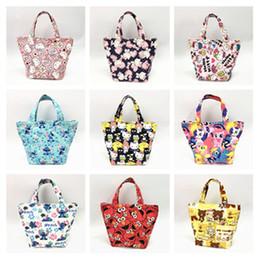 04499164eb20 New cartoon Hello Kitty lunch bag steward canvas handbag mother bag hand  box anime bags