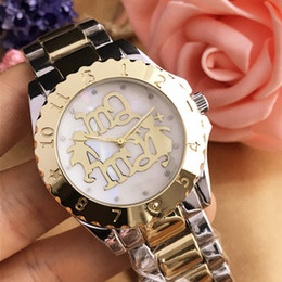 Wholesale New Korean Fashion Trend - Luxury Fashion Quartz Watch Personality Bear Fashion Trend Korean Version Of Simple Style Lady Watch