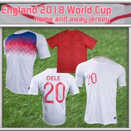 Wholesale Women Training Suits - Highest Quality England jersey Home 2018 Soccer Jerseys World Cup Away Men's Women Player Fans Version Training Suit KANE ROONEY Jerseys
