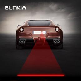 2019 автомобильный противотуманный лазер SUNKIA CarMotorcycles Лазерная противотуманная фара противотуманные задний согревающий свет для KIA VW с новыми узорами дешево автомобильный противотуманный лазер