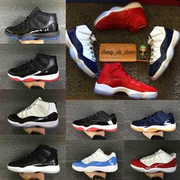 Wholesale Cuttings Box - With Box 11 11s Gym Red Basketball Shoes Men Women Chicago Midnight Navy space jam concord PRM Heiress bred gamma blue Sport Sneaker