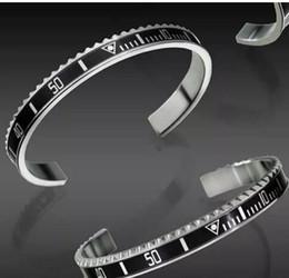 Горячая Марка часы стиль манжеты браслет высокого качества из нержавеющей стали мужские ювелирные изделия мода браслеты для женщин мужчин с оригинальной коробке набор от