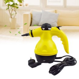 Venda quente Multi Purpose Vapor Elétrico Portátil Portátil Handheld Steamer Cleaner Household Attachments Cozinha Escova Ferramenta plugue DA UE de Fornecedores de manuais para carros