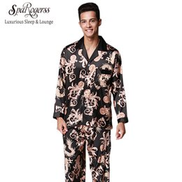 04d94f1489 Nobel Mens Pijama Set 2017 Novo Casal Pijama de Luxo Homens Pijama  Sleepwear Marca de Manga Longa Calças Terno Casa Roupas TZ070 couples  pajamas promotion