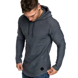 faeb44698e07 New Fashion Men Hoodies Plus Size 3XL Long Sleeve Plain Hooded Sweatshirt  Pullover Male Fitness Tops Autumn Spring Clothes