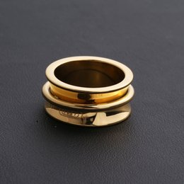 2019 любовники кольца черный титан Горячая распродажа 316L титановые стальные гвозди кольца любителей группы размер кольца для женщин и мужчин черный 1837 любовник кольцо свадебные украшения PS6468 дешево любовники кольца черный титан