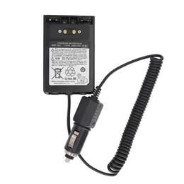 2019 radios yaesu YAESU SBR-14LI Cargador de automóvil Eliminador de batería DC12V para Yaesu VX-8R VX-8DR VX-8GR FT-1DR FT1XD FT-2DR radio FNB-102LI FNB-101Li radios yaesu baratos