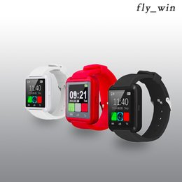Wholesale German Products - Smart Watches U8 With Bluetooth WristWatch Smartwatch Digital Sport Watches For Apple IOS Android phone Wearable Electronic Product