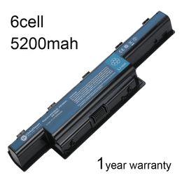 Batterie 6 cellules en Ligne-Batterie d'ordinateur portable 6 cellules pour Gateway 31CR19 / 66-2 BT.00603.124 AS10D73 NS51I NV49C NV55S NV49xx NV77H NV49C13C NS41I