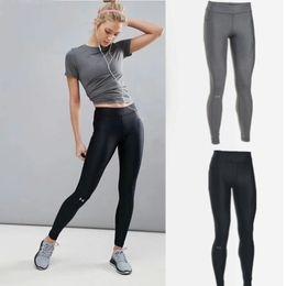 db891ee7383 dark grey yoga pants Australia - Women UA Leggings GYM Yoga pants Tights  Sportswear sports fitness
