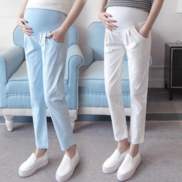 ca20a75a6d1d9 High Quality Maternity Belly Pants Causal Trousers for Pregnancy Wear Plus  Size Summer and Spring Clothes for Pregnant Women
