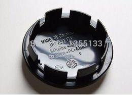 Wholesale vw jetta emblem - 20pcs 65mm wheel center hub caps Logo badge emblems for Golf Jetta Mk5 Passat B6 for VW 3B7 601 171 Car styling