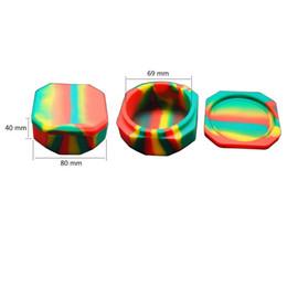 glas lebensmittel lagerbehälter deckel Rabatt 118 ml Ölkonzentrat Behälter Für Tupferwachs Antihaft-Silikonwachs Gläser Große Lebensmittelqualität
