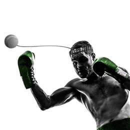 2019 équipement de combat 2018 Headband Fight Ball Reaction Magic Ball La Tete Porte Un Ballon de Combat Soulagement de la Pression Home Equipement d'Entraînement de Boxe Ball Speed Ball promotion équipement de combat