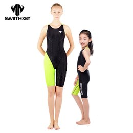 racing swimwear Promo Codes - HXBY 2017 Racing Swimwear Women One Piece Swimsuit For Girls Swim Wear Competition Swimming Suit Women Bathing Suits One Piece