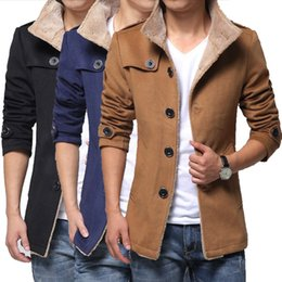 Wholesale Thick Warm Cheap Winter Coat - TG6352 Cheap wholesale 2017 new Coat to keep warm with thick winter coat cloth of cultivate one's morality men's tide