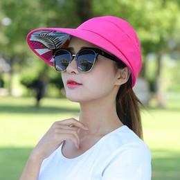 9a42100809565 hats big heads men 2019 - Lady Popular Sun Protection Hat Beach Summer  Garden Big Heads