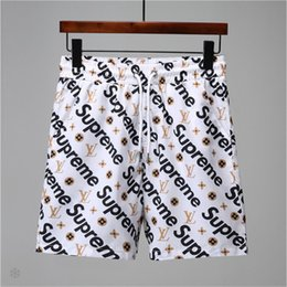 06557b844202 Mode Shorts Hommes Casual Designer Beach Shorts Marque Pantalon Court  Hommes Sous-Vêtements Conseil Shorts Mens De Luxe D été Porter