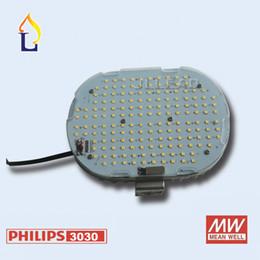 Wholesale e39 lights - (6pcs lot) LED Retrofit Kit street lighting 100w 120w 150w smd3030 chip Meanwell dirver street light 110lm w E26 E27 E39 E40