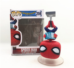 model pop Promo Codes - Demishop FUNKO POP The Man Who Came Back 259# Spiderman 10cm PVC Action Figure Collection Model Toy