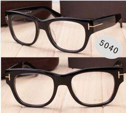 Vecchi telai di vetro online-Consegna gratuita buona qualità 2018 marca piastra 5040 retrò vecchi occhiali cornice presa di fabbrica