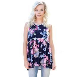 Wholesale Lace Vests For Women - SEBOWEL 2018 Summer Top Camisole Women Sexy Tops for Womens Vest women's shirt Floral Pompom Lace Trim Flowy Tank Top Streetwear