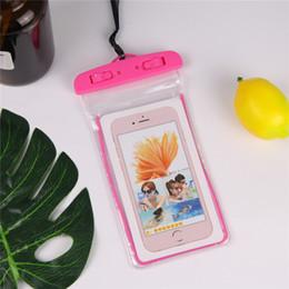 billige wasserdichte handys Rabatt Telefonkasten Universal billig wasserdichter Beutel für iphone XS MAX 8 7 6 6s plus für Samsung Wasserbeweis Trockenbeutel für Handy