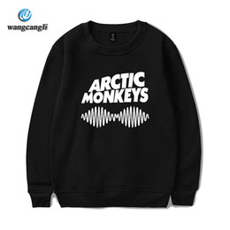 Affe hoodies frauen online-Neue Neuheit Arctic Monkeys Sweatshirt Breaking Bad Heisen Frauen / Männer O Ansatz London Boy weibliche Fleece Pullover Sweatshirts