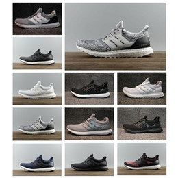 new product d4b67 0f8dc Adidas Ultra boost 3.0 4.0 Best match 3.0 4.0 Scarpe da corsa per uomo  Donna III Primeknit Runs nero Bianco Athletic Shoes trainer sportivo a  prezzi ...